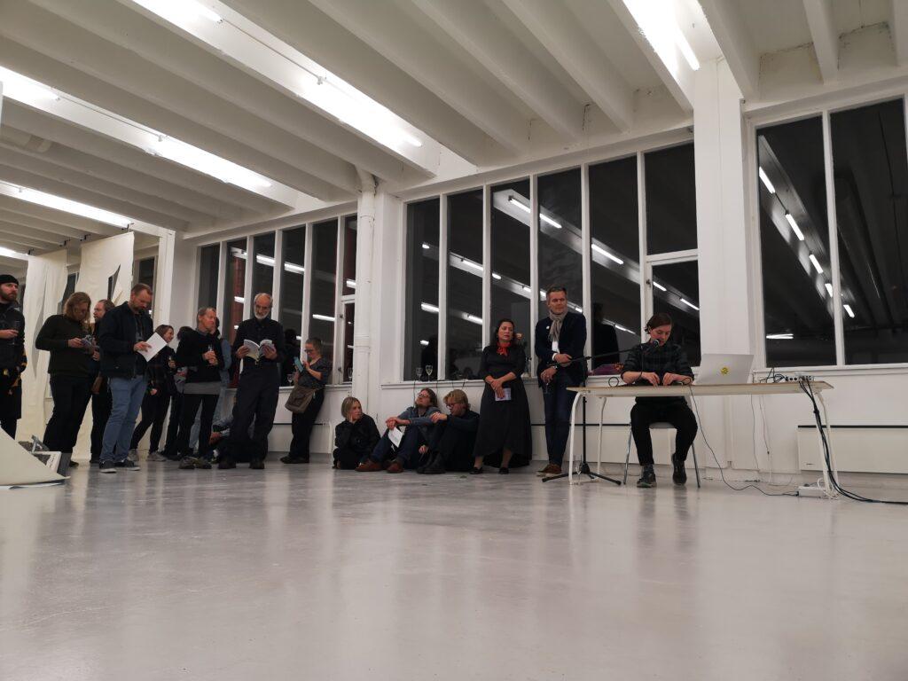 Torn Tacks performance at Kunstgarasjen